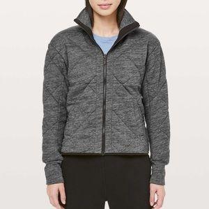 Lululemon Forever Warm Jacket - Heathered Grey